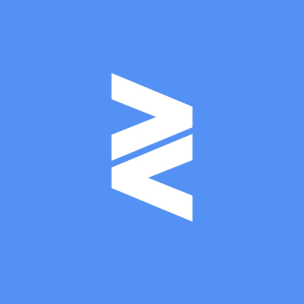 Eventle logo in blue